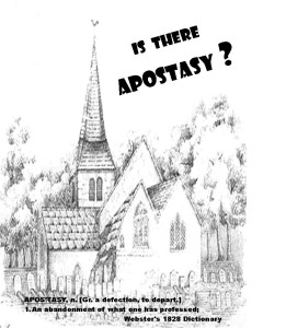 Is There Apostasy