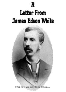 Letter From James Edson White