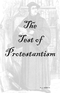 Test of Protestantism