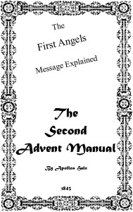 The Second Advent Manual