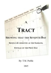 Tract Showing the Seventh Day Sabbath