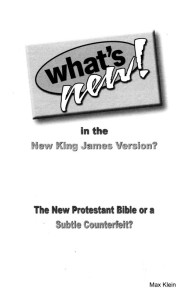 What's New in the New King James Version